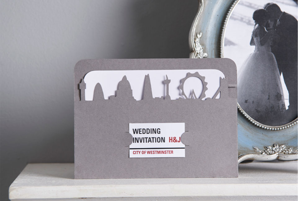Designer Wedding Invitation